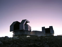 Picture of the twin Magellan telescopes