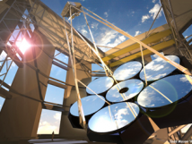 Animated image of the Giant Magellan Telescope